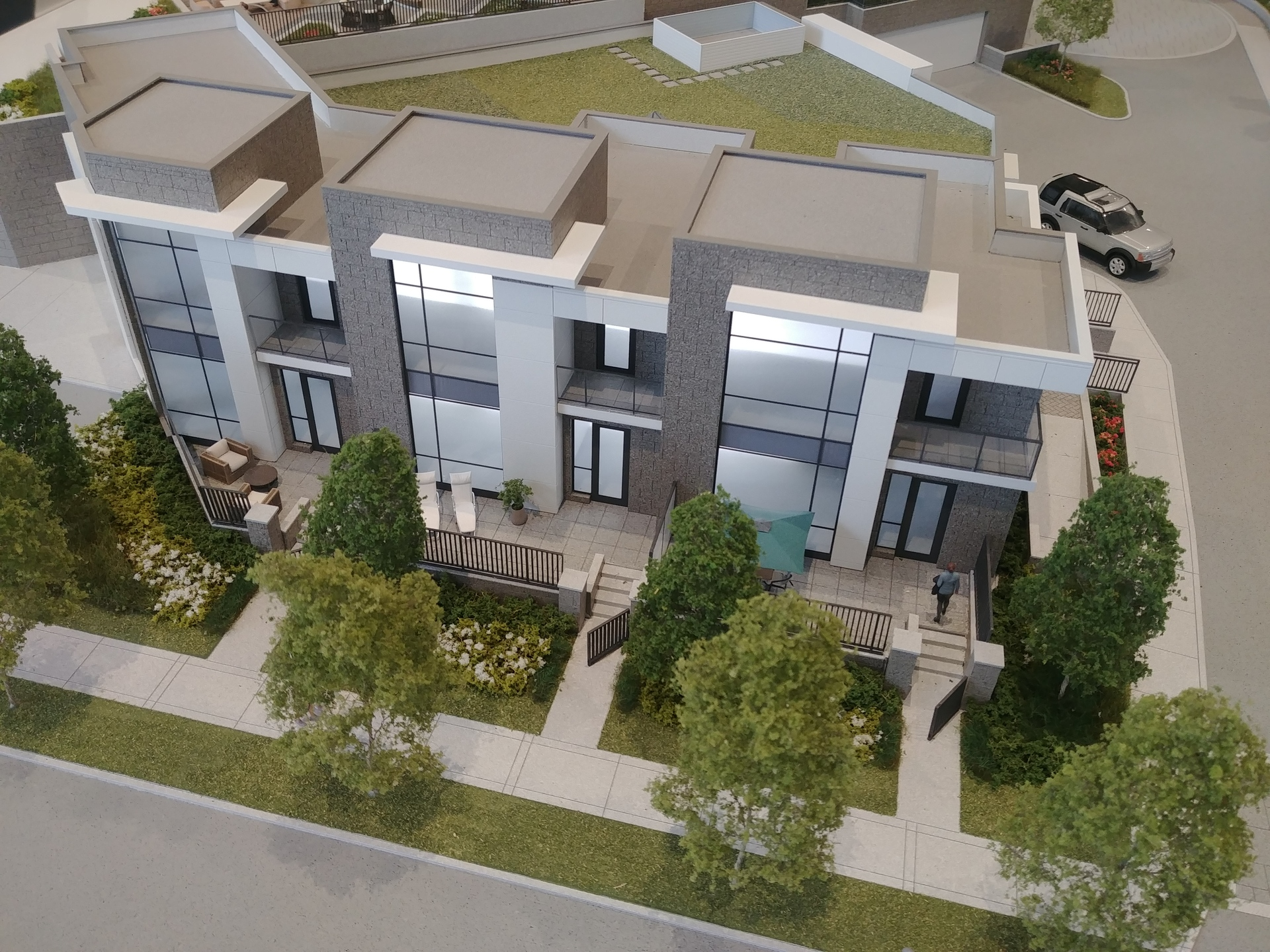 centra-townhomes at Centra Surrey City Centre (13868 101 Avenue, Whalley, North Surrey)