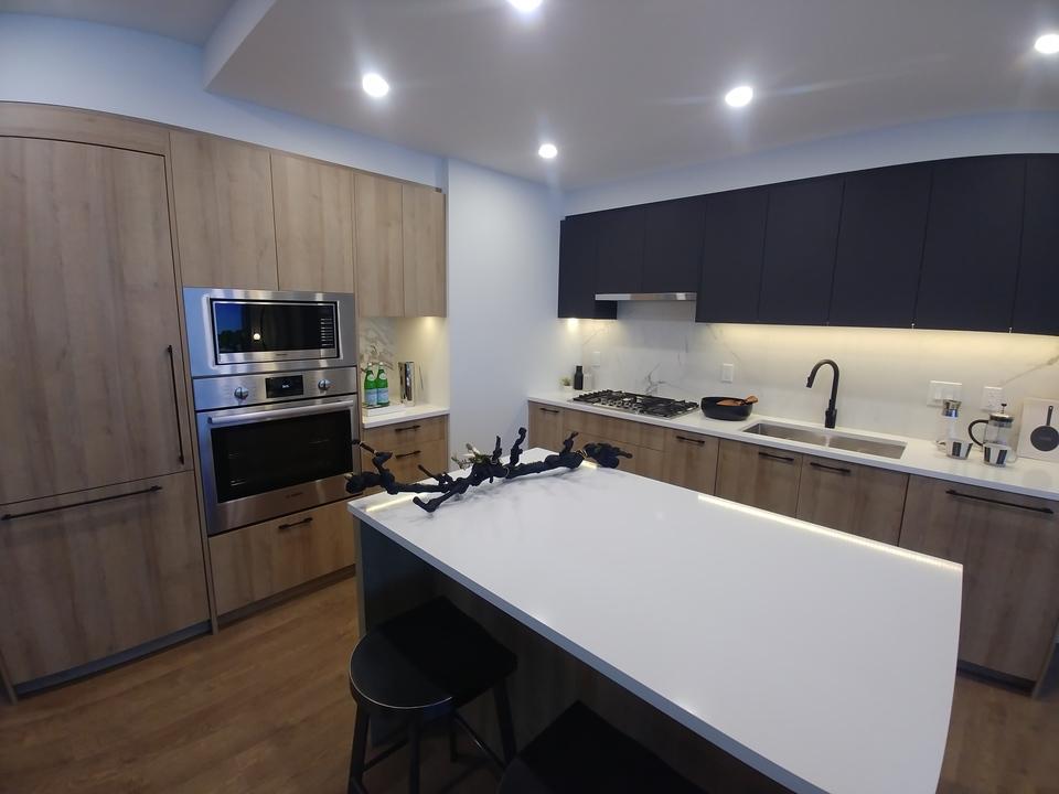 h21-2-bed-kitchen-in-dusk-colour-scheme-with-island at Horizon 21 (218 Blue Mountain, Maillardville, Coquitlam)