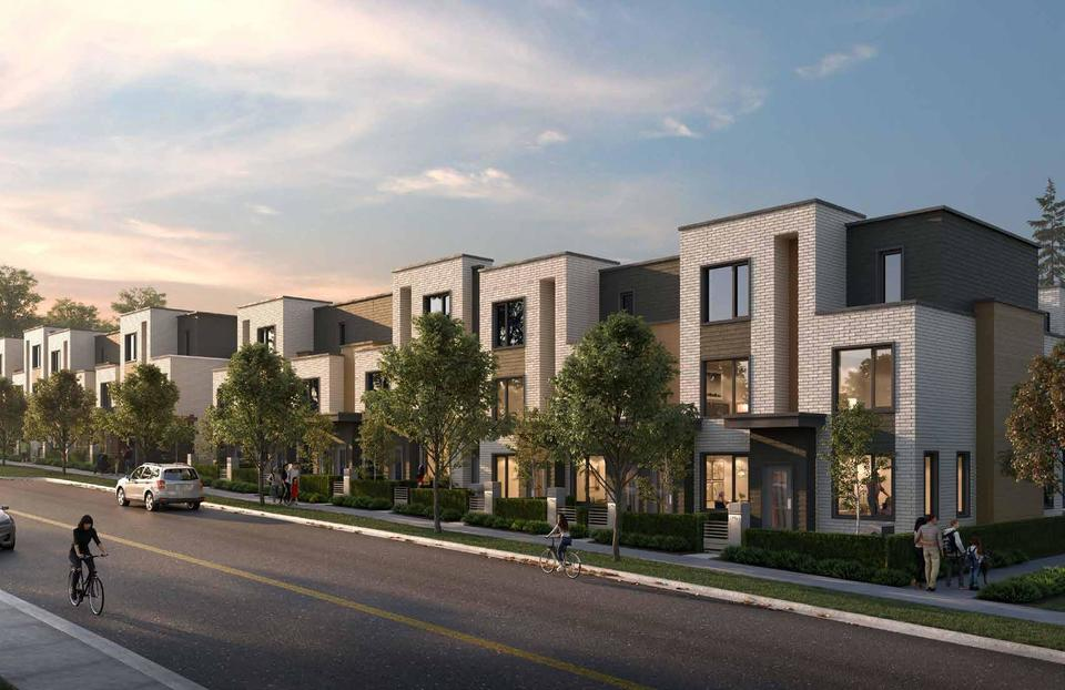 Skagen Townhomes Passive House Design at Skagen townhomes (606 Foster Avenue, Coquitlam West, Coquitlam)