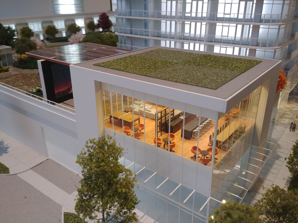 georgetown-one-amenity-lounge-building at Georgetown (13645 102 Avenue, Surrey Central (Central City), North Surrey)