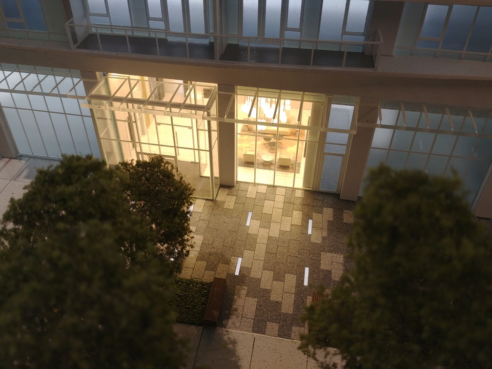georgetown-one-lobby at Georgetown (13645 102 Avenue, Surrey Central (Central City), North Surrey)