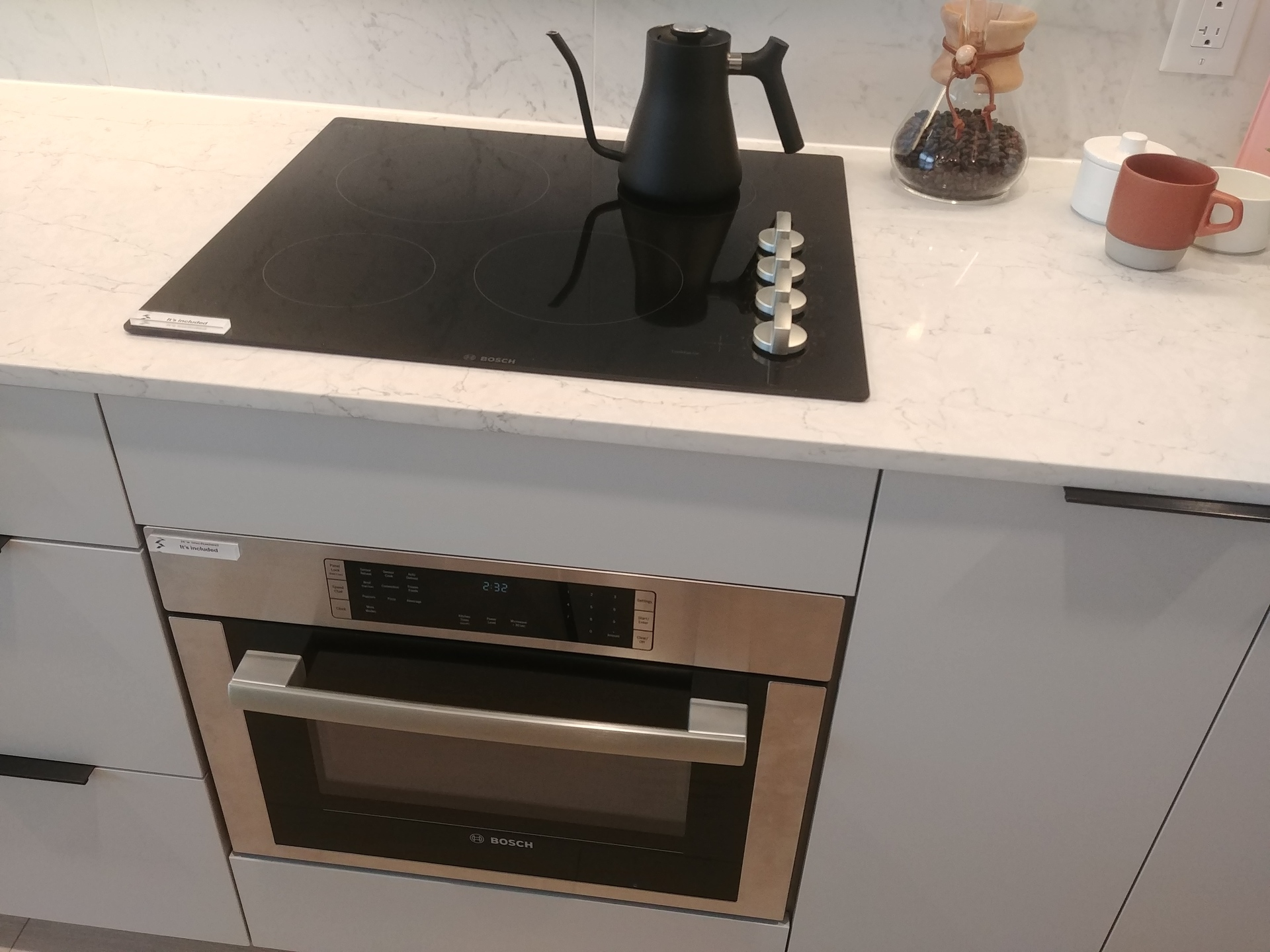 georgetown-one-bosch-speed-oven-and-cooktop at Georgetown (13645 102 Avenue, Surrey Central (Central City), North Surrey)