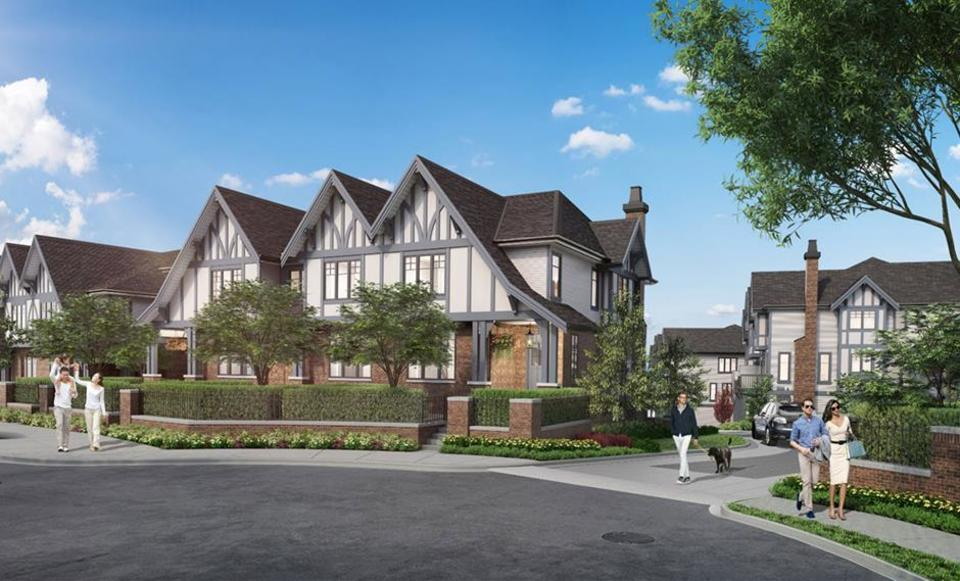 hadleigh-on-the-park-coquitlam-townhomes at Hadleigh on the Park (3306 Princeton Street, Burke Mountain, Coquitlam)