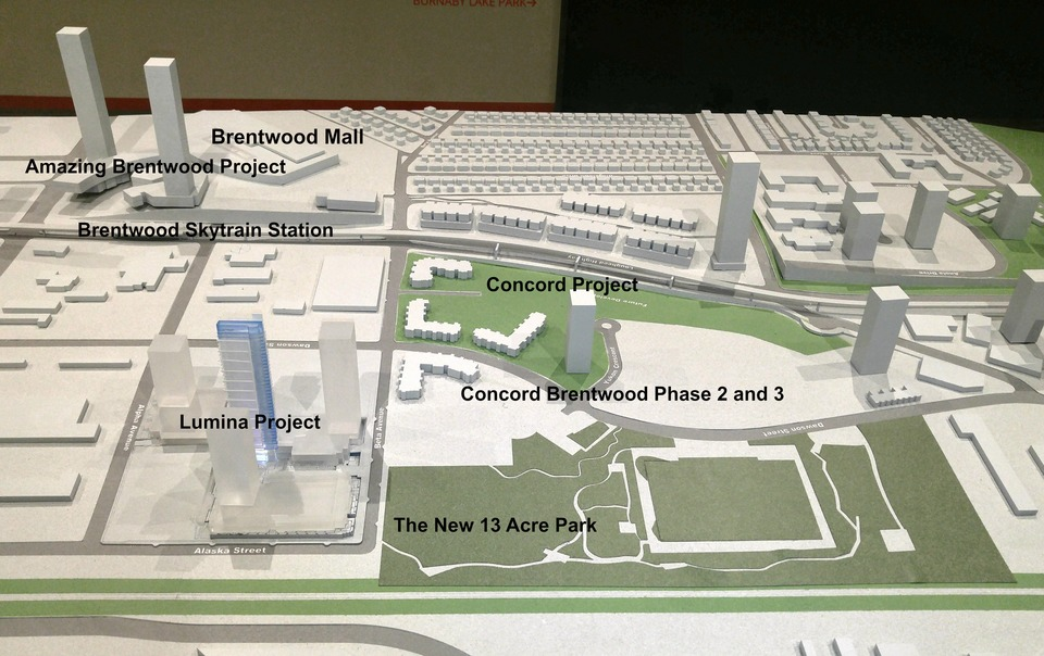map-of-brentwood-lumina-project at Eclipse - Lumina (2463 Beta Avenue, Brentwood Park, Burnaby North)