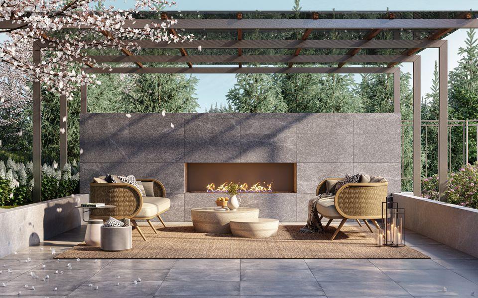 outdoor-dining-amenity-slate-by-beedie-living at Slate (5180 Lougheed Highway, Brentwood Park, Burnaby North)