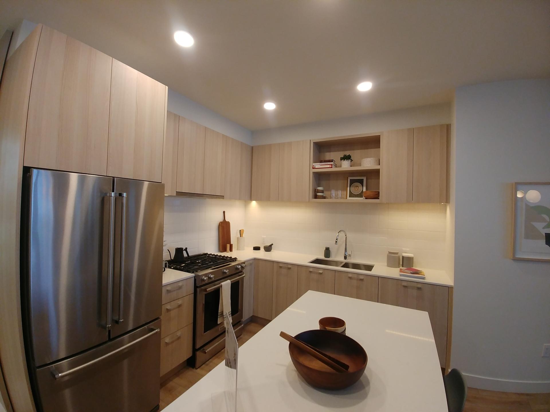 The Oaks- Kitchen-Dining- light colour scheme at The Oaks (731 Anskar Court, Coquitlam West, Coquitlam)