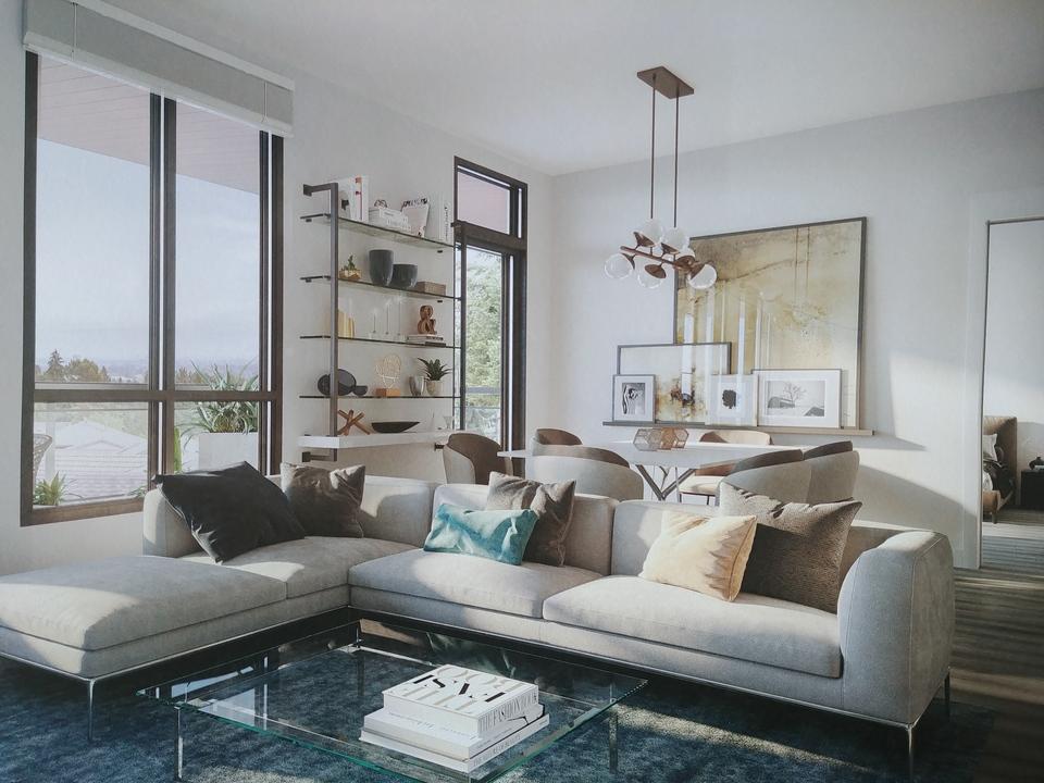 Kira- Living room at Kira (740 Dogwood Street, Coquitlam West, Coquitlam)