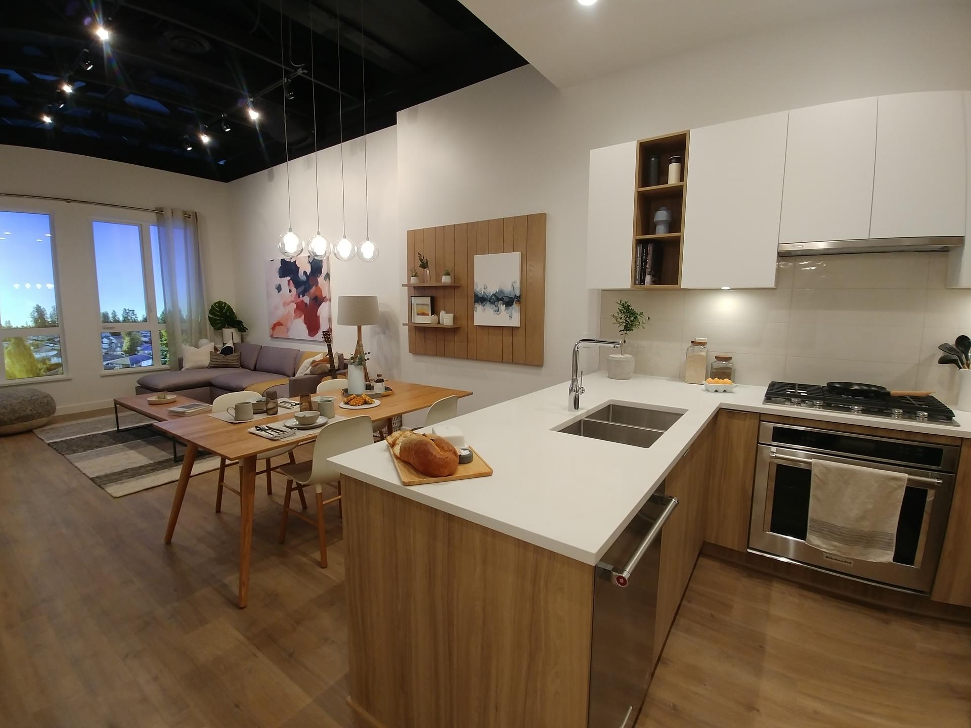 Living area at Kira (740 Dogwood Street, Coquitlam West, Coquitlam)