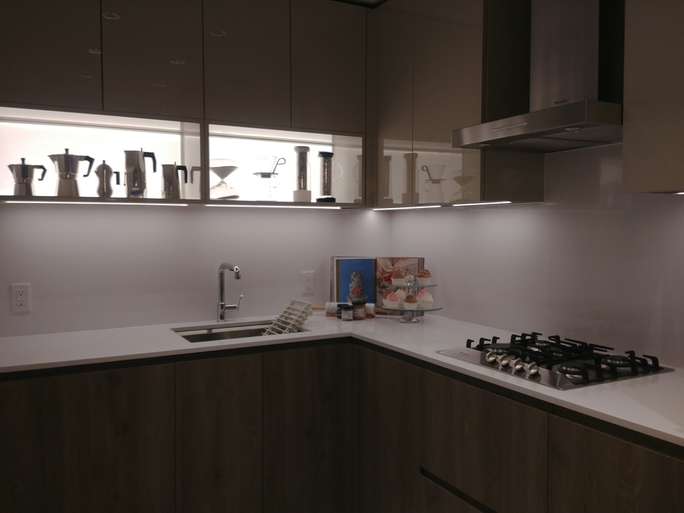highline-junior-2-bed-b-plan-showing-led-lit-open-shelving at Highline (6811 Sussex Street, Metrotown, Burnaby South)
