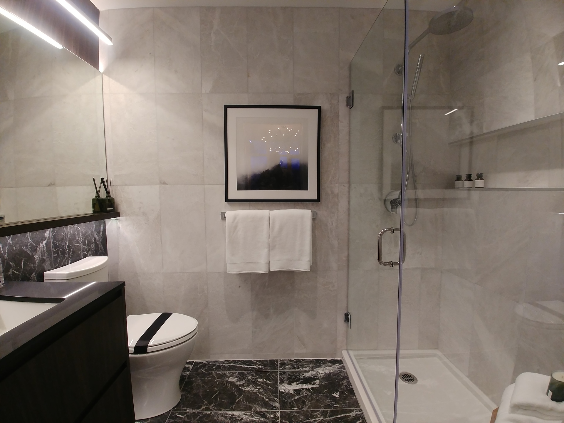 highline-c-plan-ensuite-in-dark-scheme-with-fully-tiled-walls at Highline (6811 Sussex Street, Metrotown, Burnaby South)