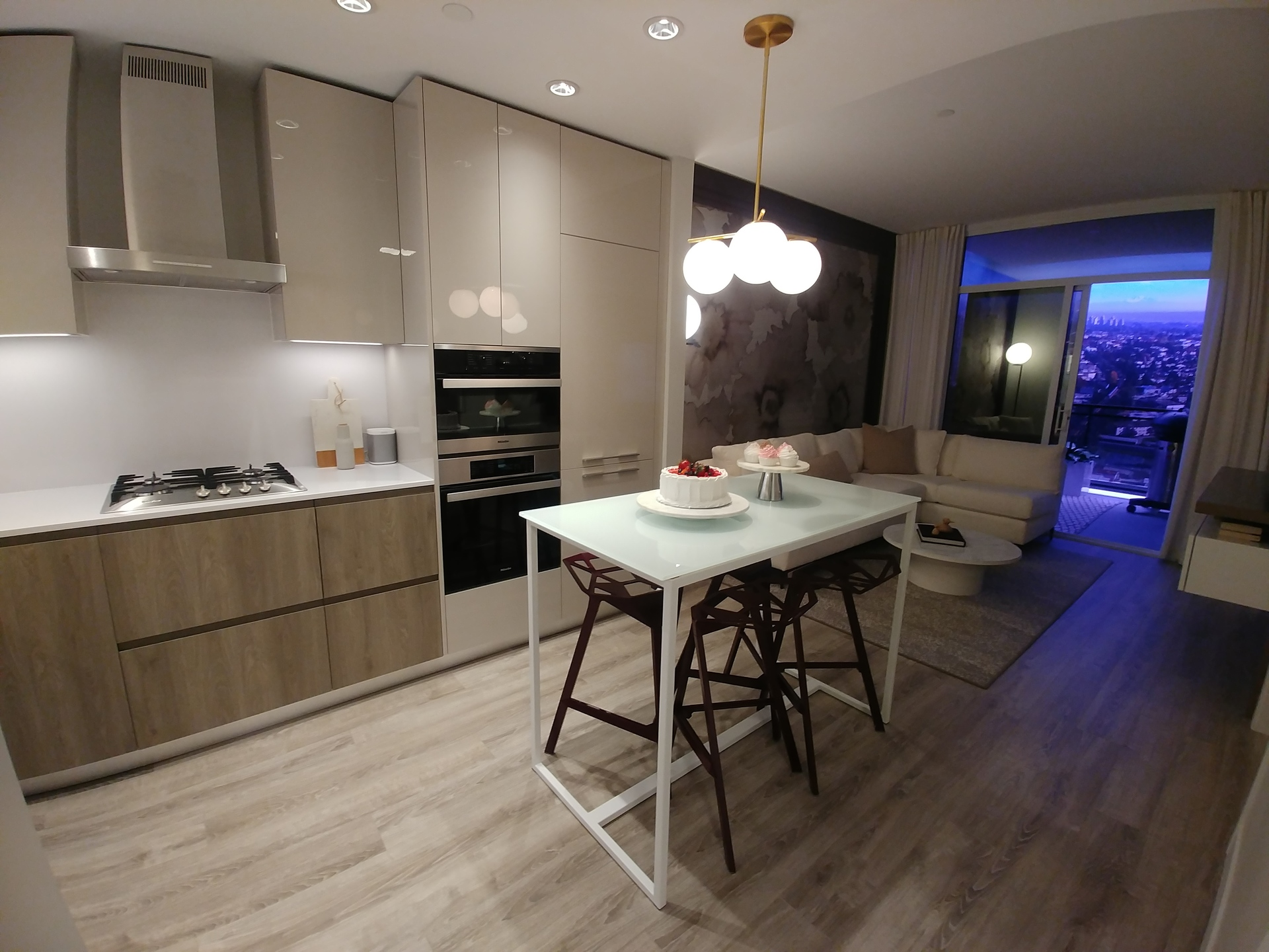 highline-junior-2-bed-b-plan-from-entrance at Highline (6811 Sussex Street, Metrotown, Burnaby South)