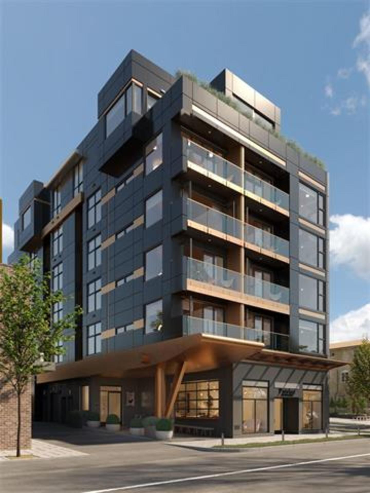 grand-exterior-rendering at Grand (138 E 8th Avenue, Mount Pleasant VE, Vancouver East)