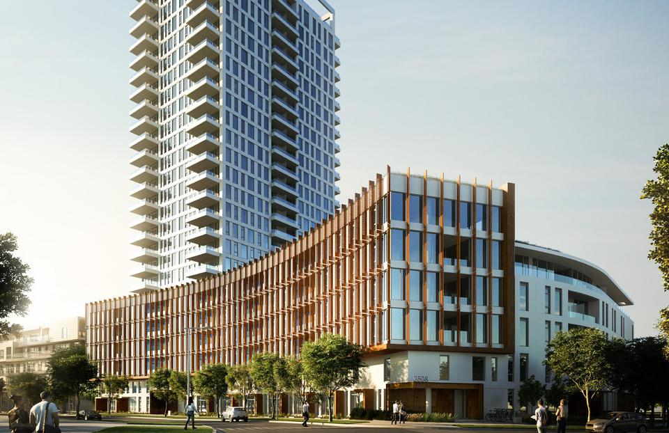 Mode River District by Wesgroup at Mode - River District (3438 Sawmill Crescent, Champlain Heights, Vancouver East)