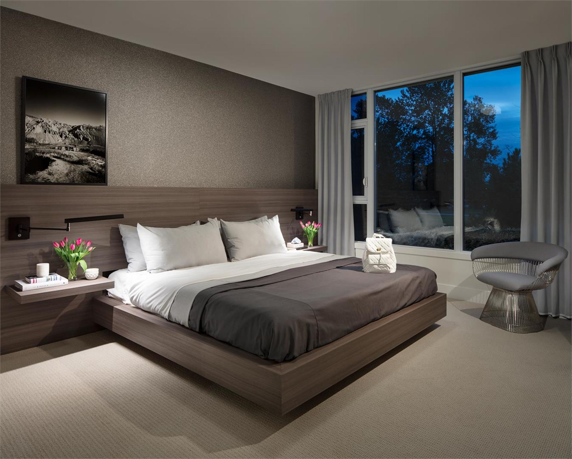 mode-bedroom at Mode - River District (3438 Sawmill Crescent, Champlain Heights, Vancouver East)
