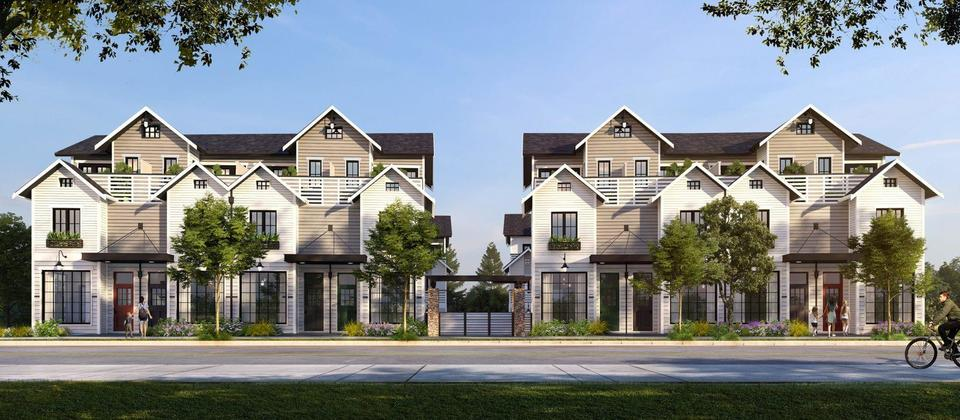 toppen-ridge-north-vancouver-townhomses at Toppen Ridge (557 E 3rd, Lower Lonsdale, North Vancouver)