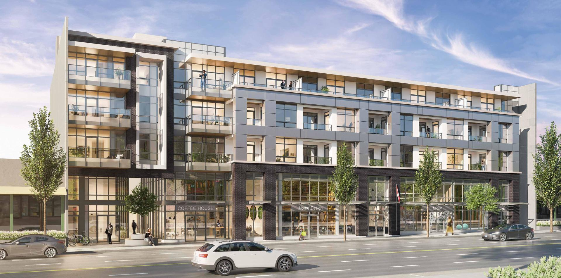 Storia New Development Burnaby Heights at Storia (4354 East Hastings Street, Vancouver Heights, Burnaby North)
