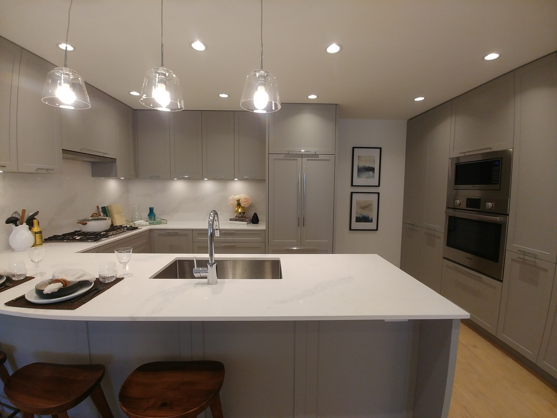 storia-kitchen-light-colour-scheme at Storia (4354 East Hastings Street, Vancouver Heights, Burnaby North)