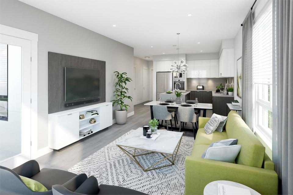amson-square-living-room at Amson Square (14468 72 Avenue, East Newton, Surrey)