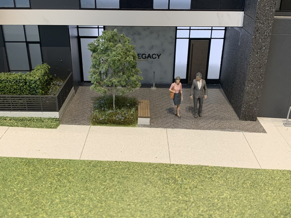 Legacy lobby entrance off of 28th Avenue at Legacy on Dunbar (4464 Dunbar Street, Dunbar, Vancouver West)