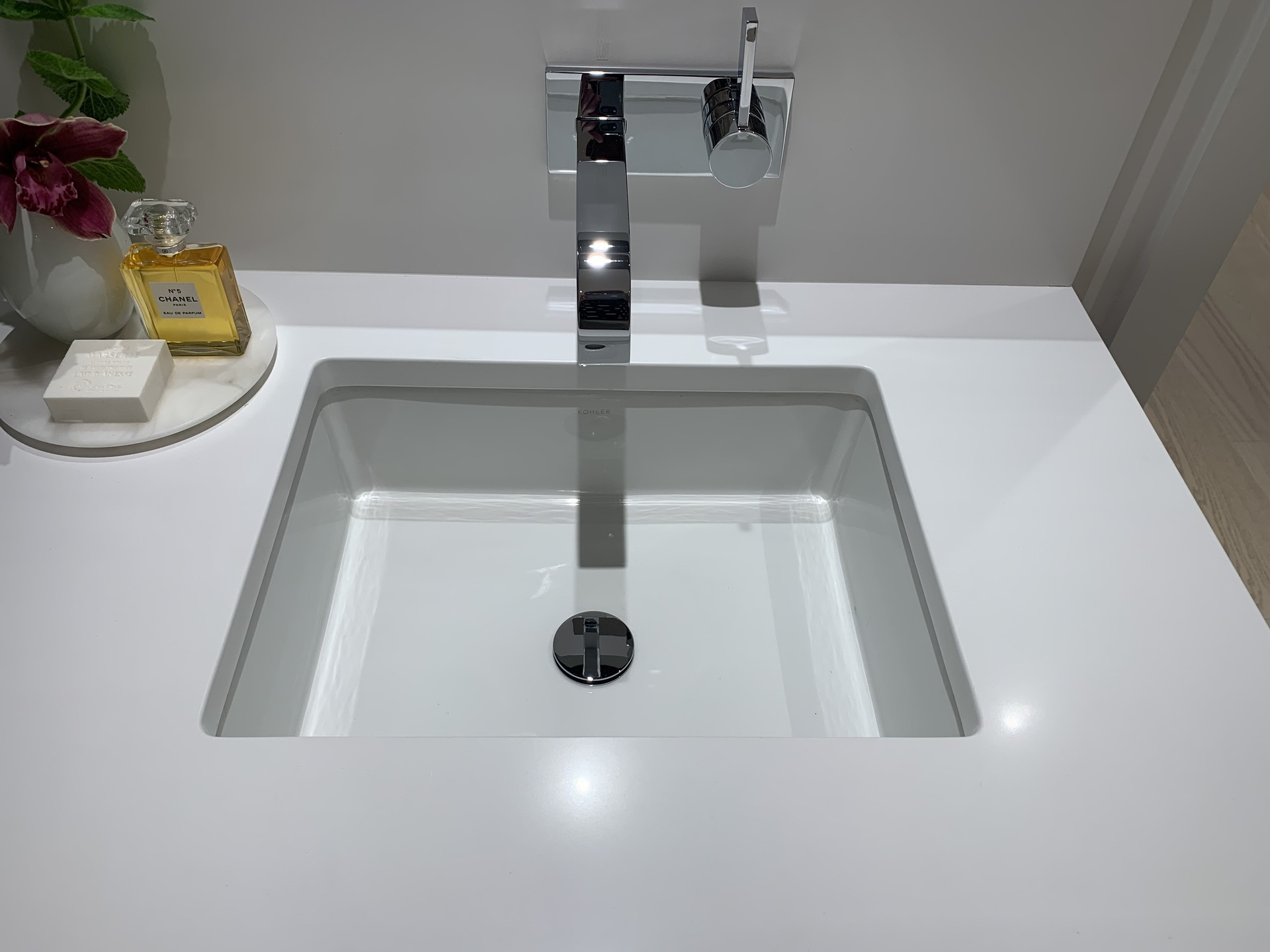 Legacy en-suite undermounted sink at Legacy on Dunbar (4464 Dunbar Street, Dunbar, Vancouver West)