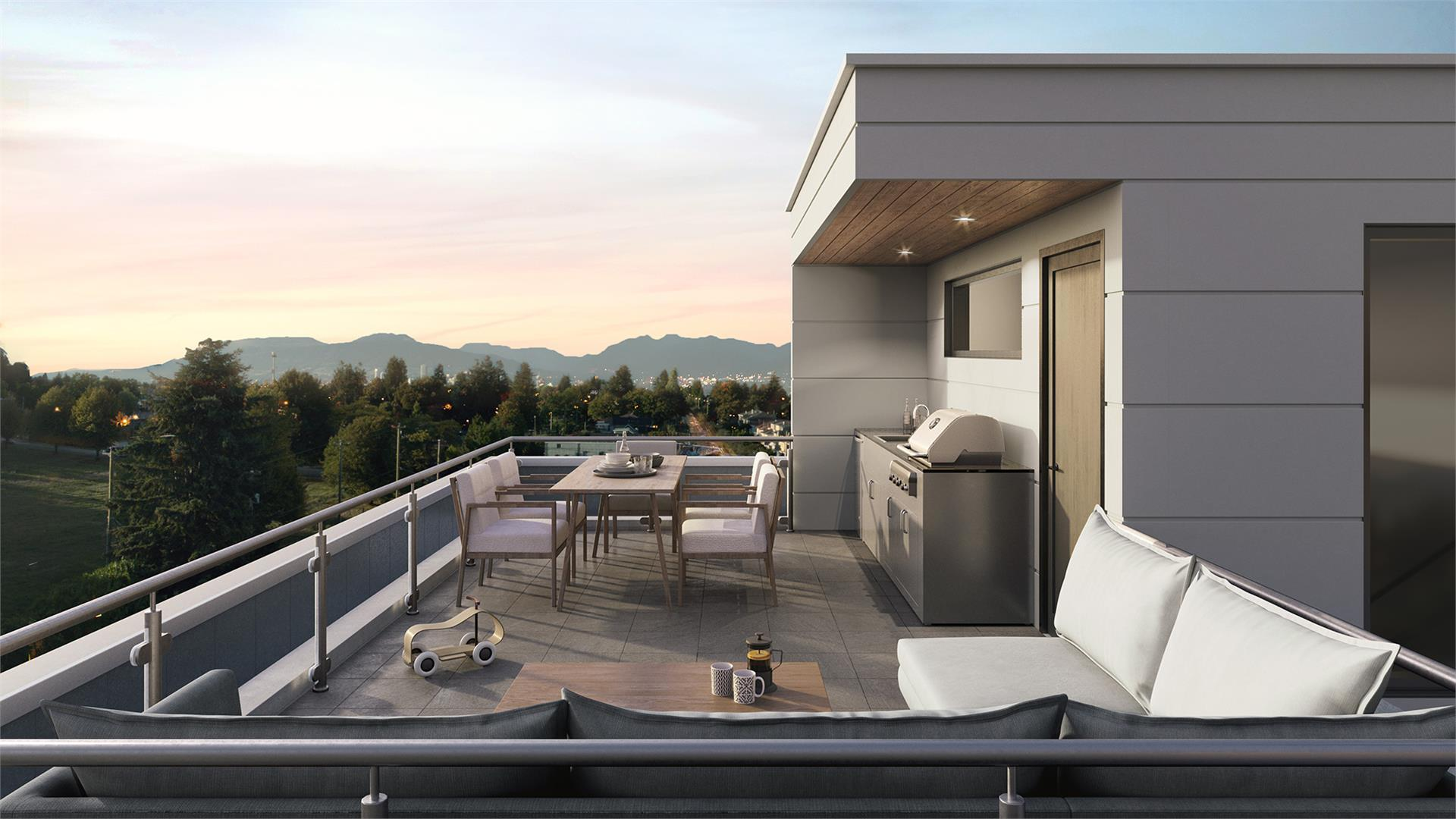 shift-penthouse-private-roof-deck at Shift (5089 Quebec Street, Main, Vancouver East)