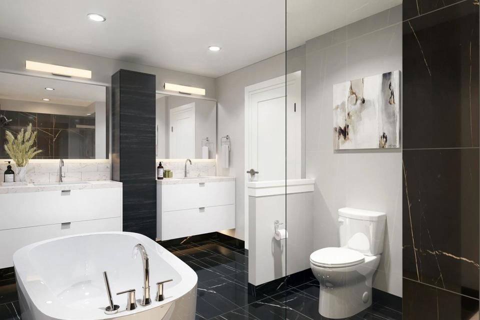 the-pearl-residences-bathroom at The Pearl Residences (1628 Store Street, Downtown and Harris Green, Victoria)