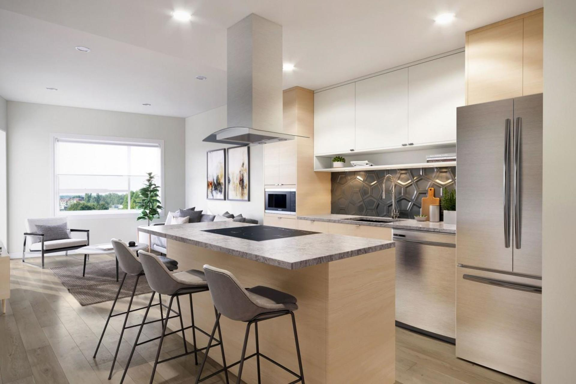 the-pearl-kitchen at The Pearl Residences (1628 Store Street, Downtown and Harris Green, Victoria)