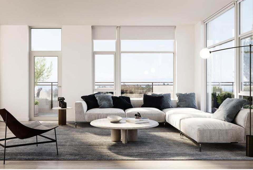 Esquimalt Town Square Living Room  at Esquimalt Town Square (1235 Esquimalt Road, Esquimalt, Victoria)