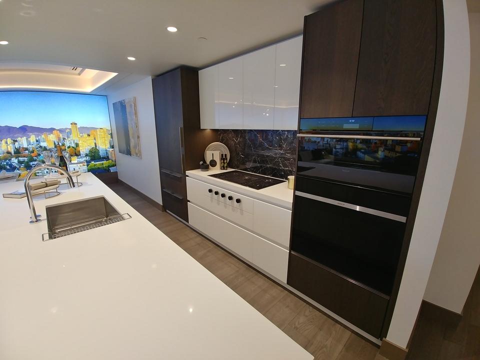davie-nicola-kitchen-davie-colour-scheme at Davie and Nicola (1188 Nicola, West End VW, Vancouver West)