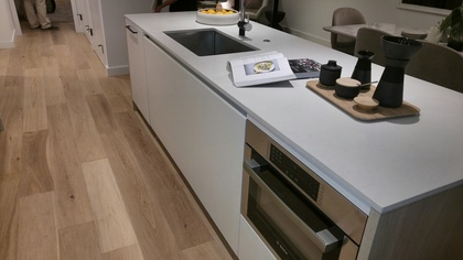 mirabel-kitchen-island at 1345 Davie Street, West End VW, Vancouver West