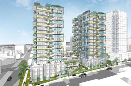 Mirabel West End Vancouver Condos at 1345 Davie Street, West End VW, Vancouver West