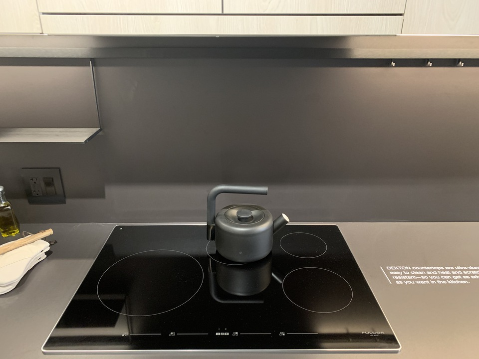 Format Fulgor Milano induction cooktop at FORMAT (1503 Kingsway Street, Knight, Vancouver East)