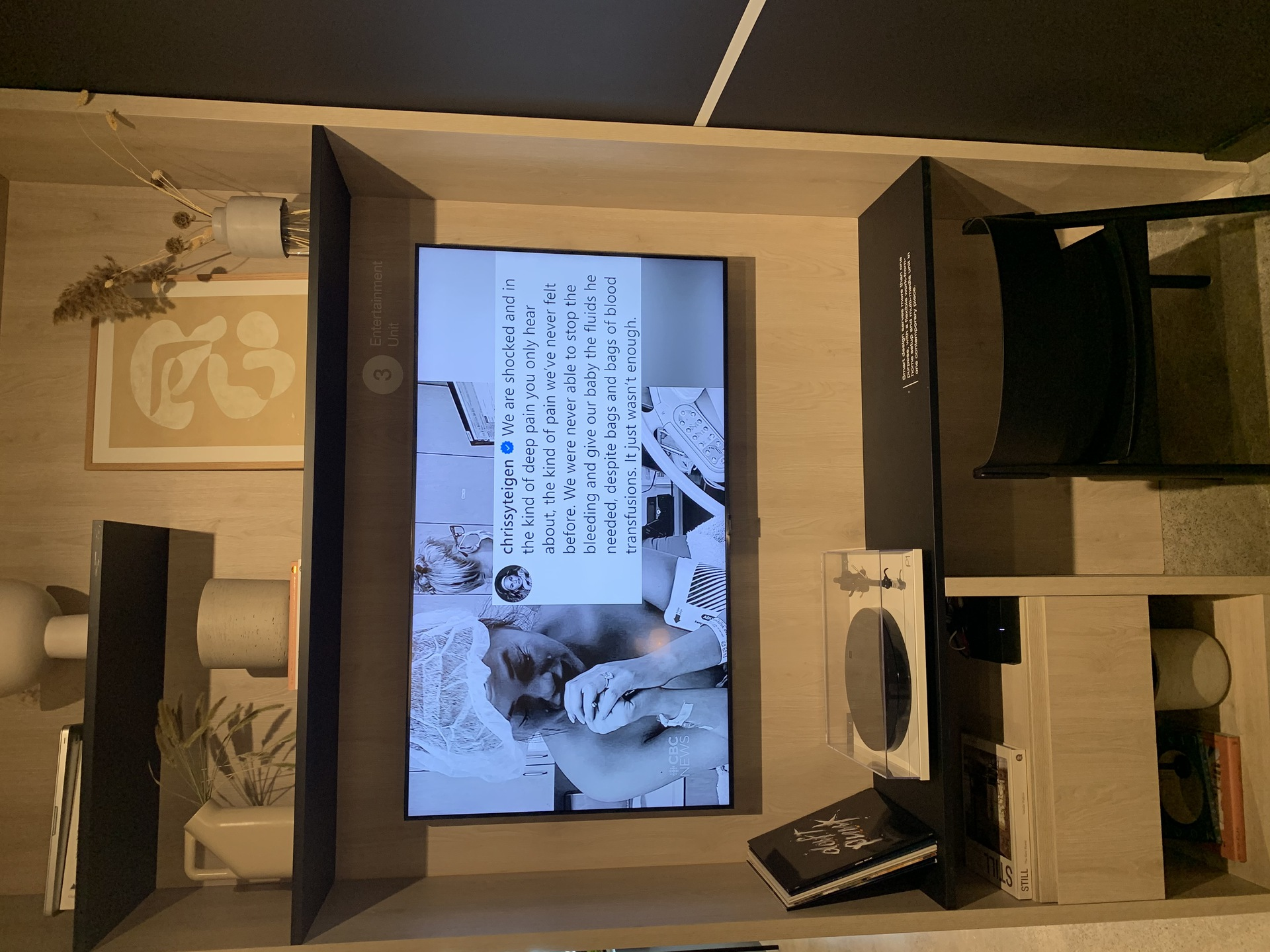 Format customized built-in media cabinet at FORMAT (1503 Kingsway Street, Knight, Vancouver East)