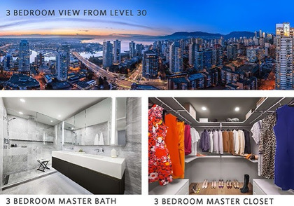 the-pacific-stunning-view-from-3-bedrooms-30th-floor at 1382 Hornby Street, Downtown VW, Vancouver West