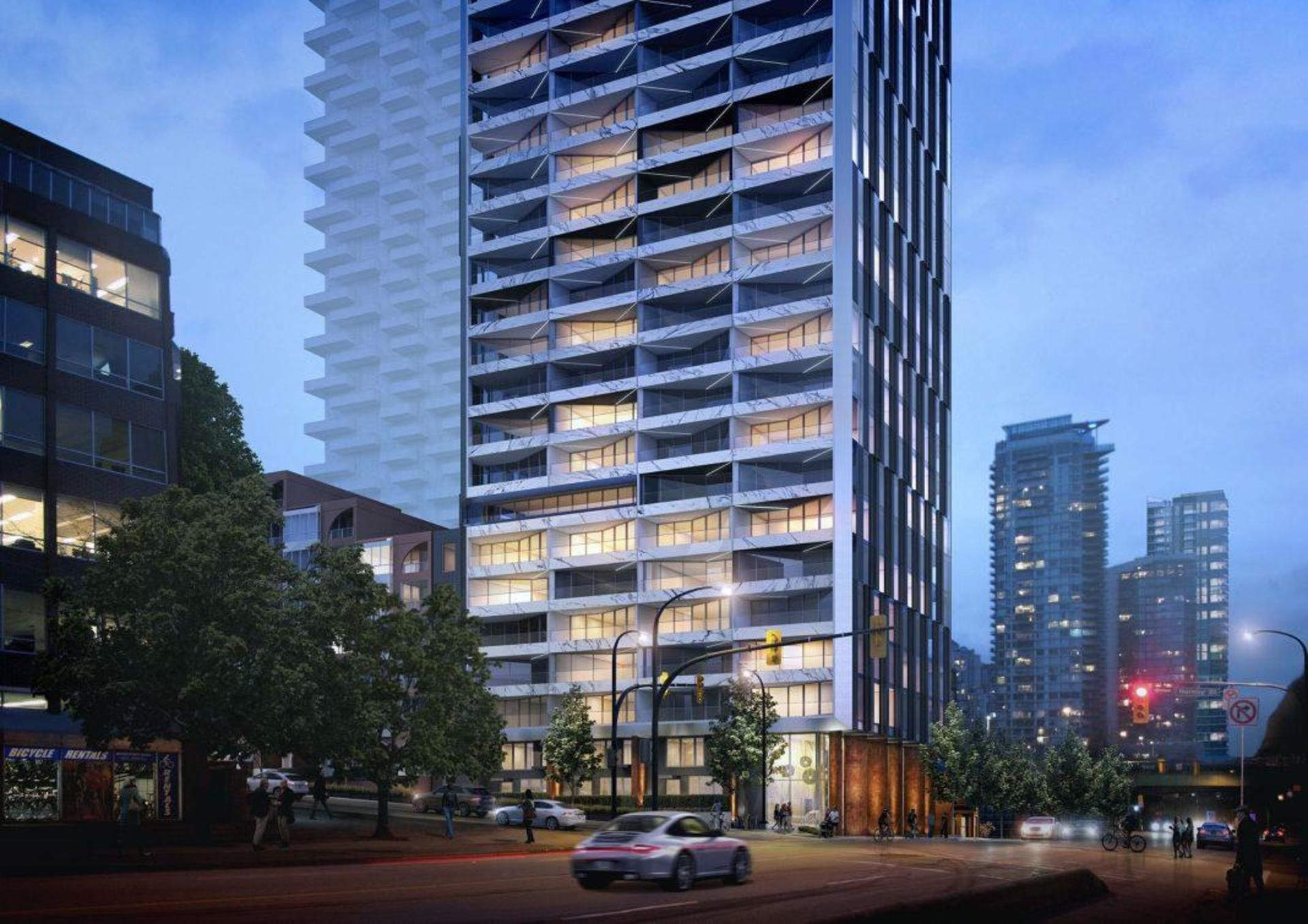 grosvenor-pacific at 1382 Hornby Street, Downtown VW, Vancouver West