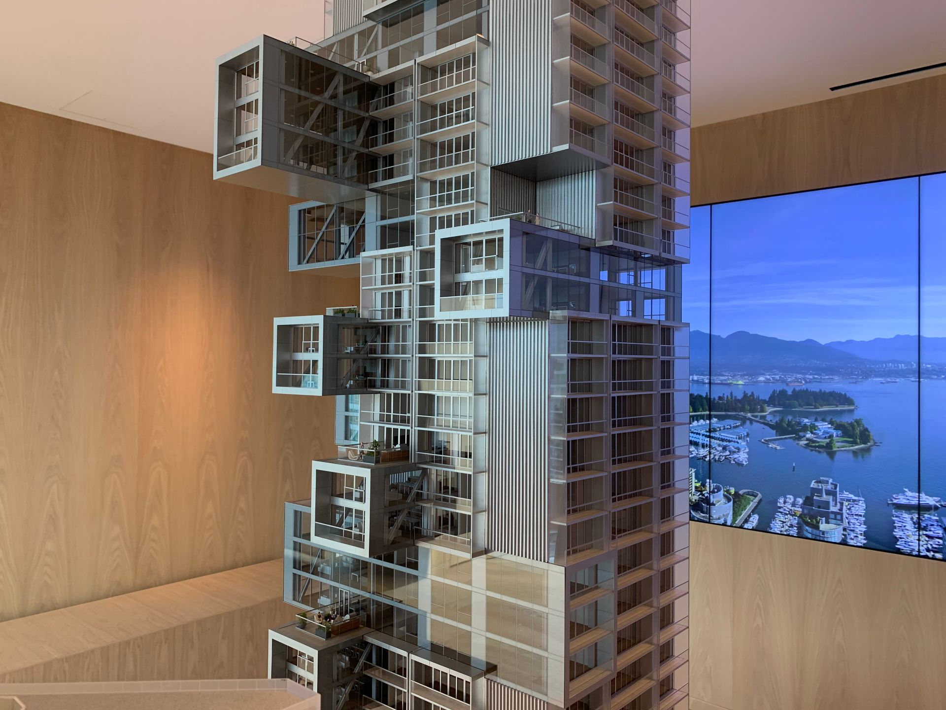 1515 cantilevered observatory homes at Fifteen Fifteen (1515 Alberni Street, Coal Harbour, Vancouver West)