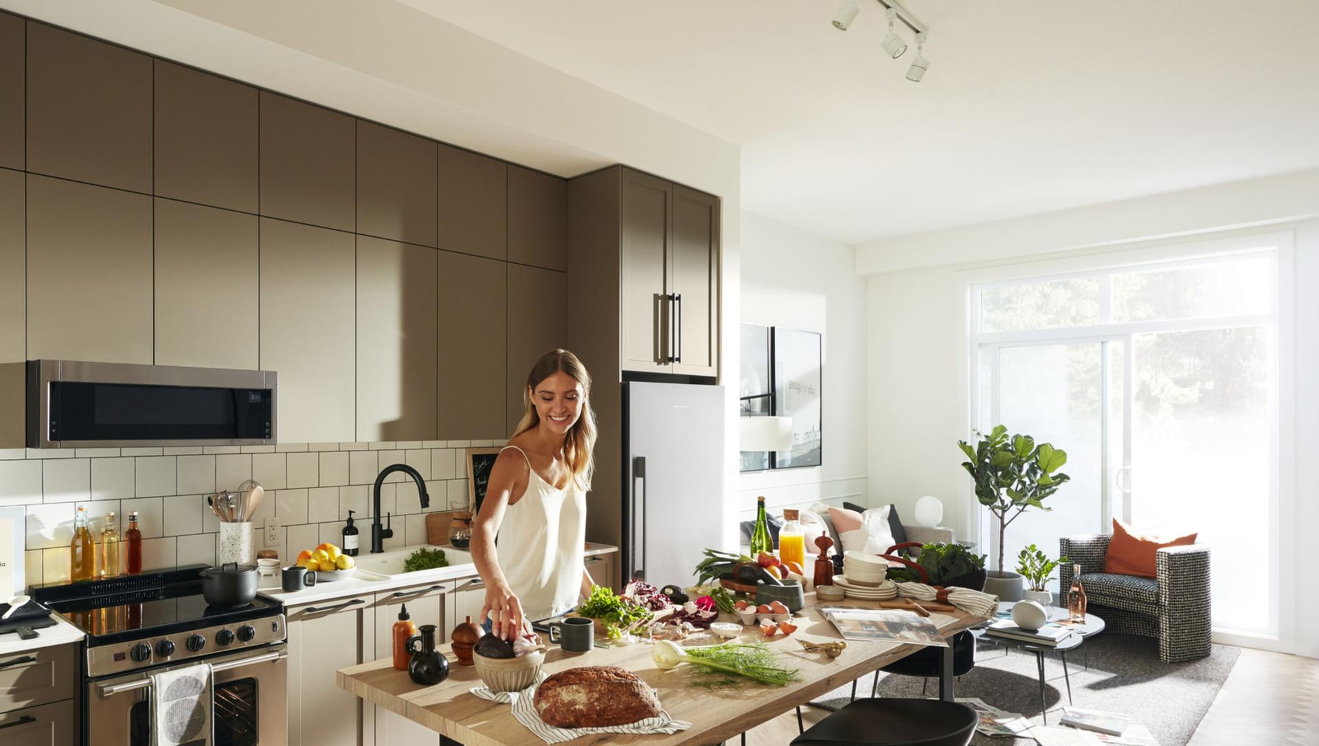 parker-kitchen at Parker (10612 139 Street, Whalley, North Surrey)