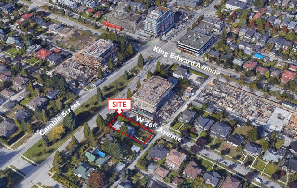 486-west-26th- Site location at W26th Avenue (486 W 26th Avenue, Cambie, Vancouver West)