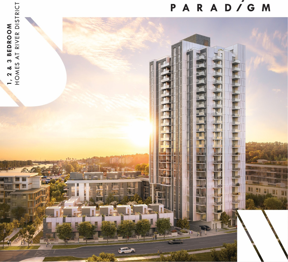 paradigm-artists-rendering at Paradigm ( River District, South Marine, Vancouver East)