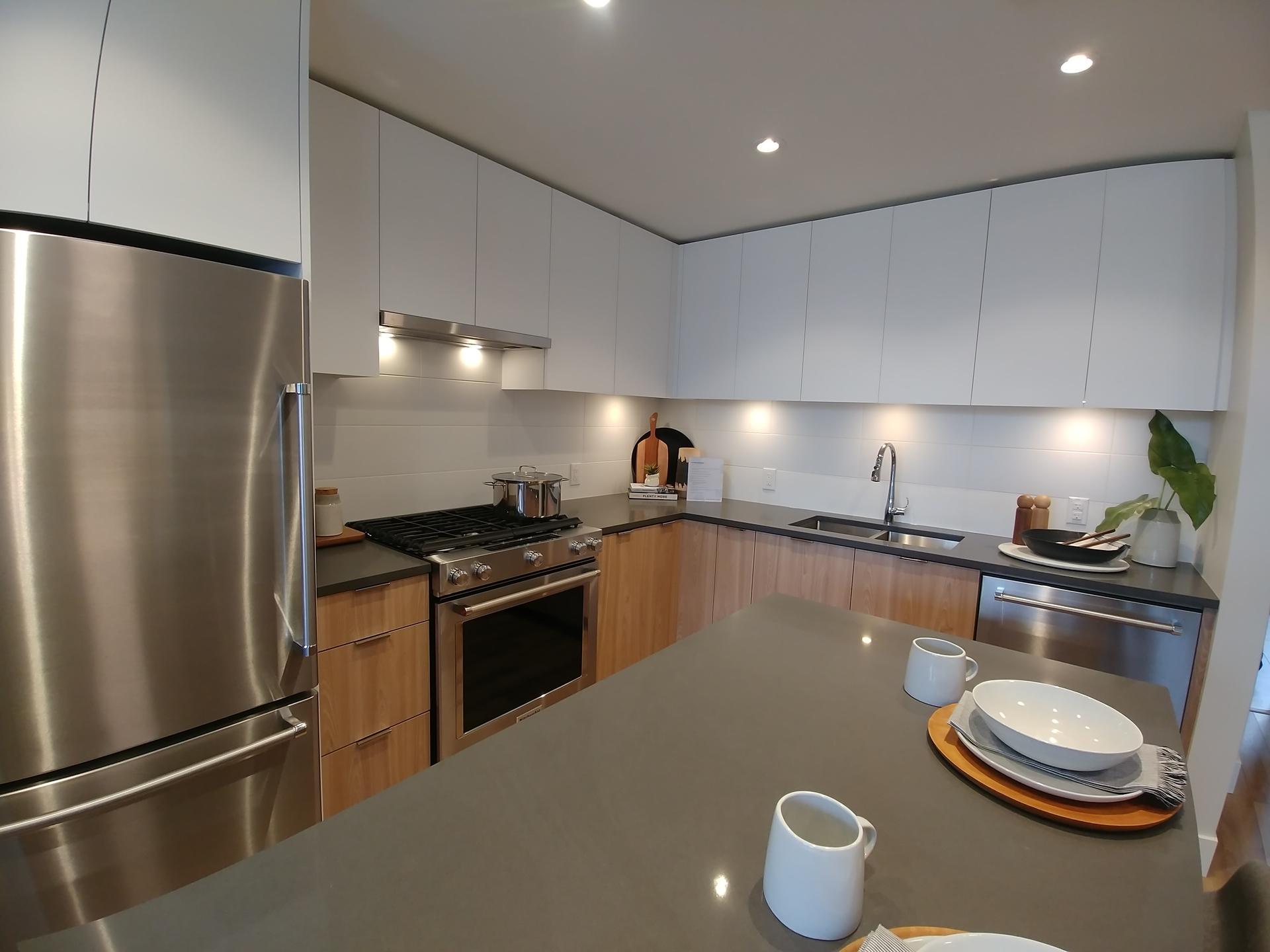 paradigm-light-colour-scheme-kitchen at Paradigm ( River District, South Marine, Vancouver East)