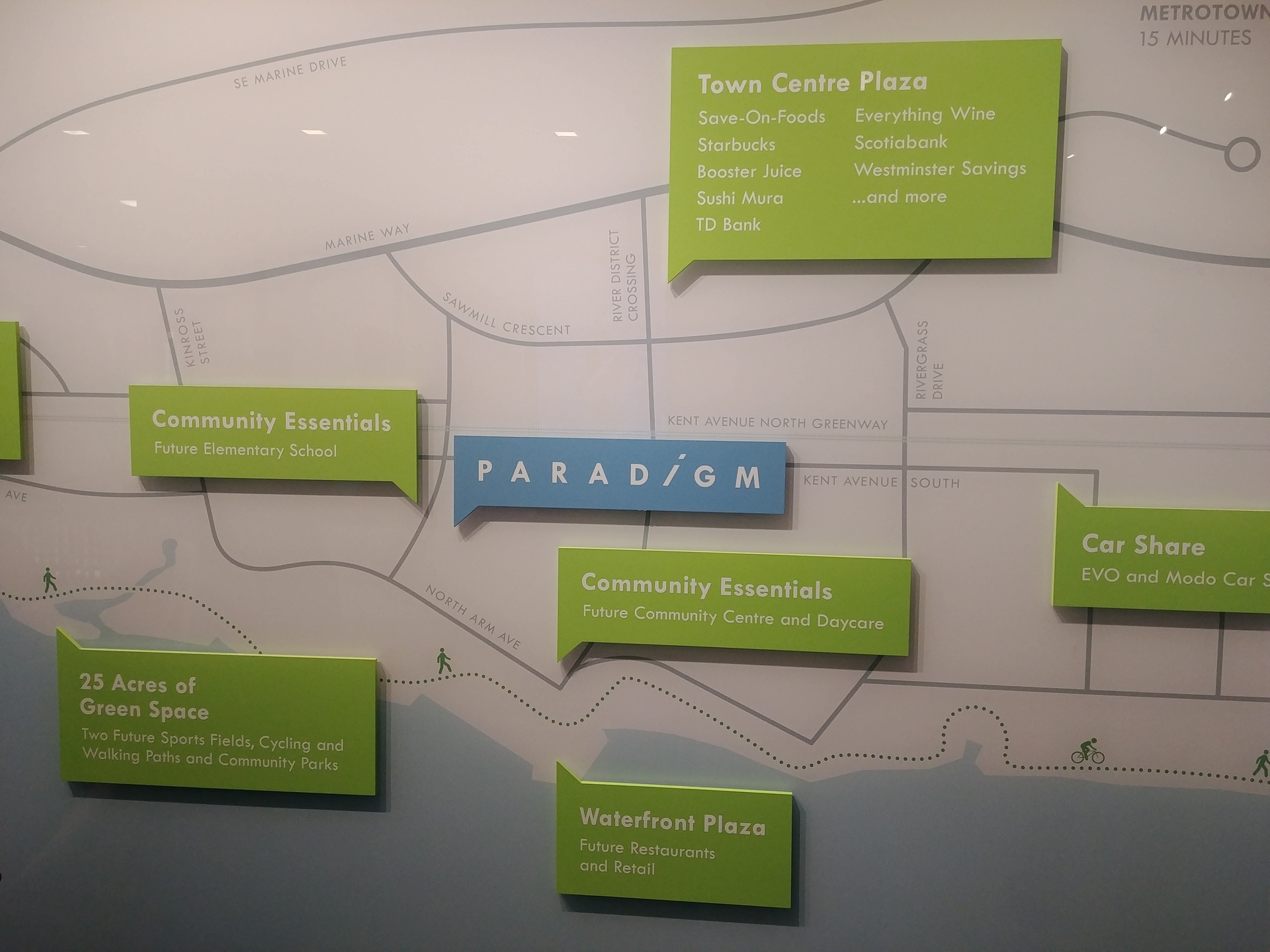 paradigm-location-map at Paradigm ( River District, South Marine, Vancouver East)