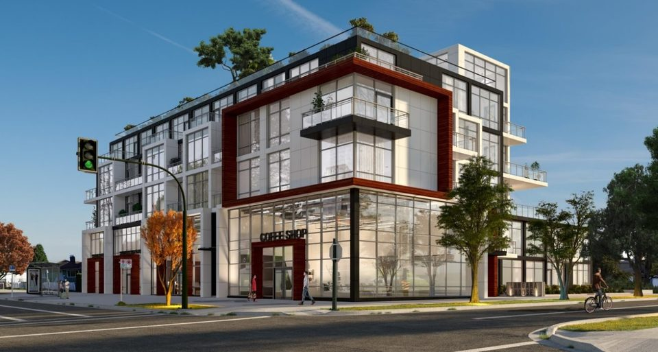 Langara house- Artist's rendering at Langara House (105-125 W 49th Avenue, Cambie, Vancouver West)