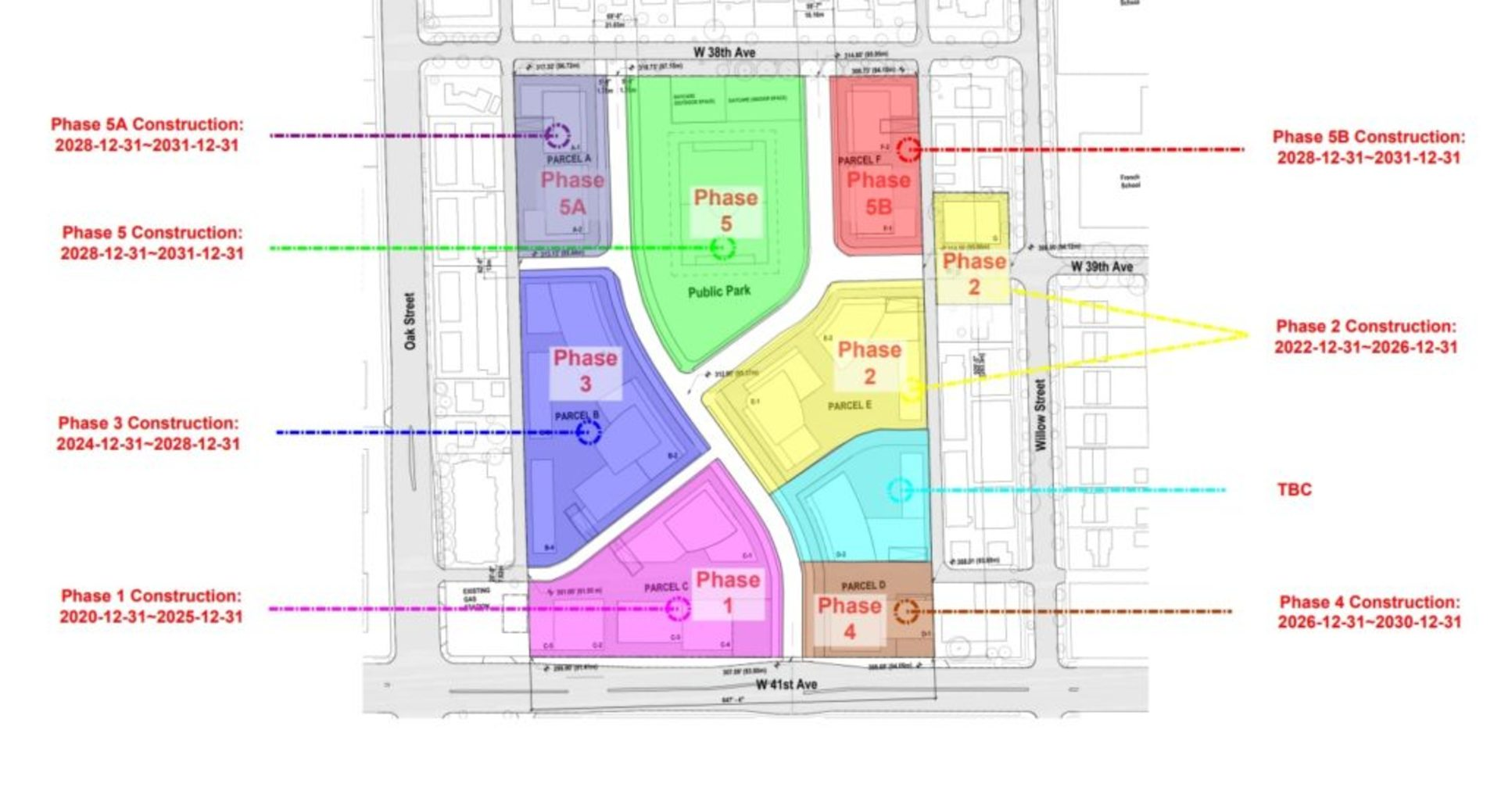 oak-green_phase-plan at Oak Green (949 W 41st Avenue, Cambie, Vancouver West)