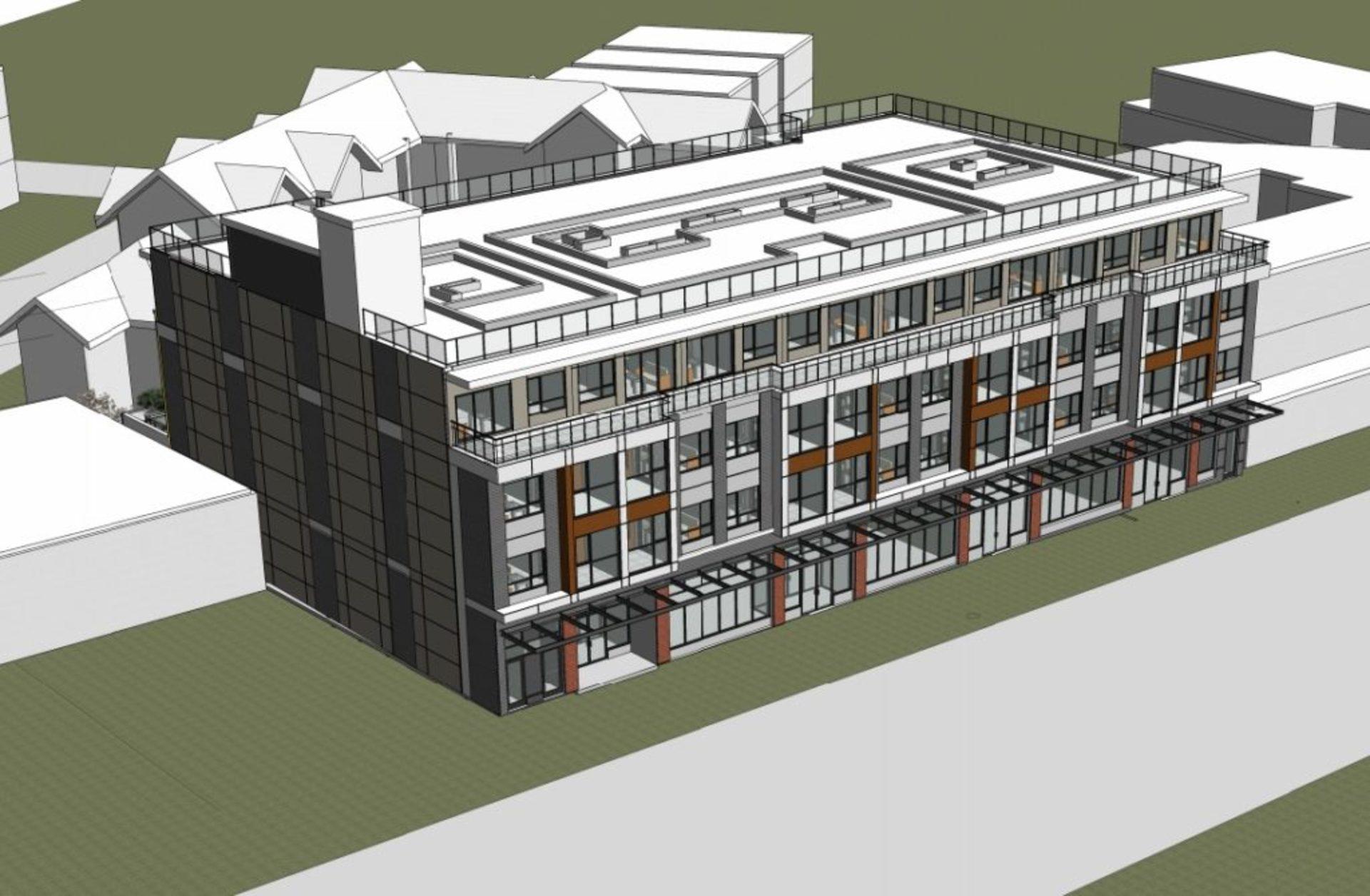 1050-kingsway_1-Artist's rendering within site at 1050 Kingsway (1050 Kingsway, Knight, Vancouver East)
