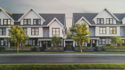 arcola-rendering at Arcola Townhomes (6965 Arcola Street, Highgate, Burnaby South)