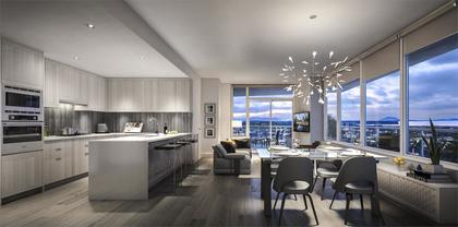Imperial-Living-Room at Imperial (5051 E Imperial Street, Metrotown, Burnaby South)