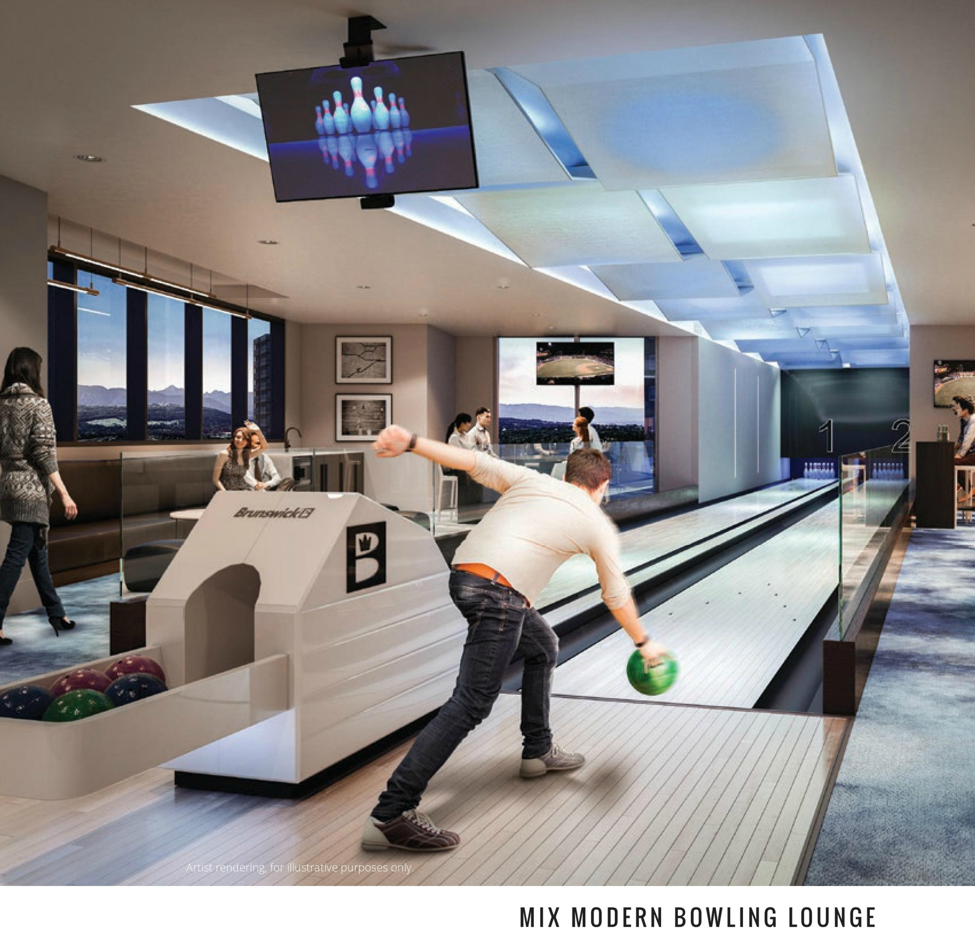 sussex-bowling-alley at Sussex (6050 Sussex Avenue, Metrotown, Burnaby South)