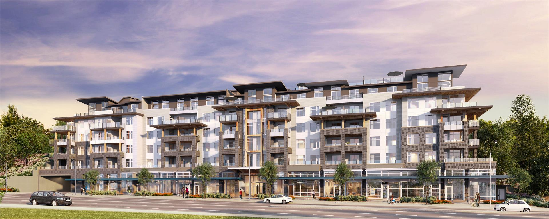 clyde-port-moody-condos at Clyde (3227 St Johns Street, Port Moody Centre, Port Moody)