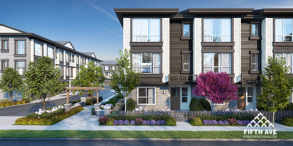 Clayton Street Townhomes at Clayton Street Townhomes (19255 72 Avenue, Clayton, Cloverdale)