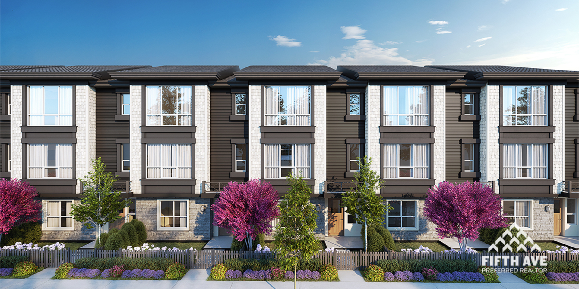 Clayton Street by Kleen Design at Clayton Street Townhomes (19255 72 Avenue, Clayton, Cloverdale)